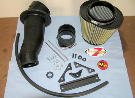 AFE Stage II Intake & Pro-Guard Filter Installation