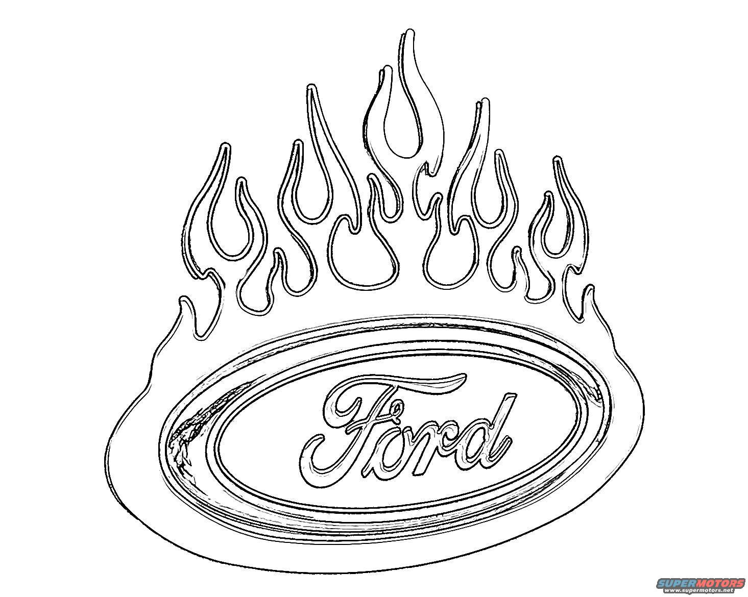 ford coloring pages for kids - photo#26