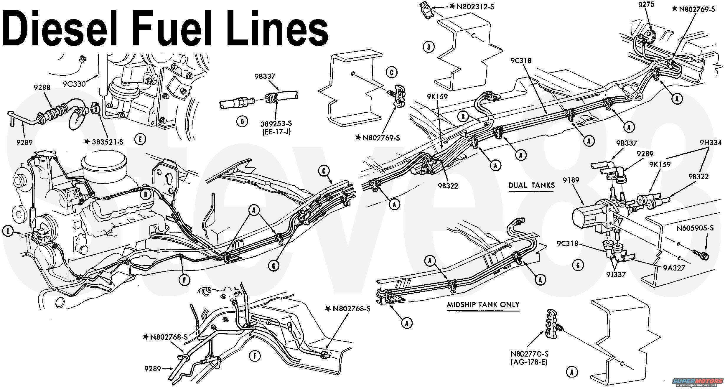 7 3 idi fuel system diagram